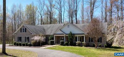 Albemarle County Single Family Home For Sale: 2695 Plank Rd