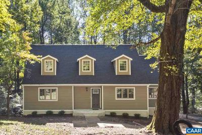 Charlottesville Single Family Home For Sale: 285 Turkey Ridge Rd