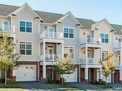 Albemarle County Townhome For Sale: 2304 Whittington Dr