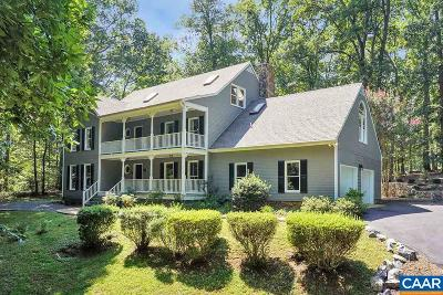 Charlottesville Single Family Home For Sale: 3530 Montgomery Ln