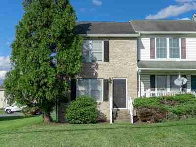 Harrisonburg, Mcgaheysville, Elkton, Bridgewater, Broadway Townhome For Sale: 1548 W Market St