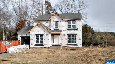 Fluvanna County Single Family Home For Sale: Lot 1 Partridge Berry Ln