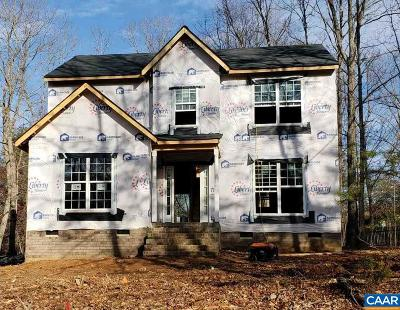 Fluvanna County Single Family Home For Sale: Lot 308 Jefferson Drive West