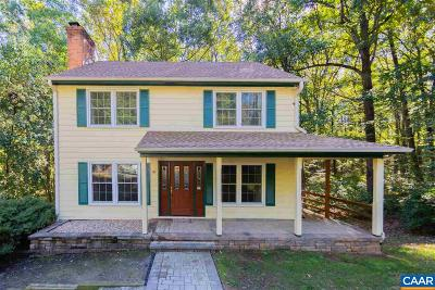 Albemarle County Single Family Home For Sale: 96 Oak Forest Cir