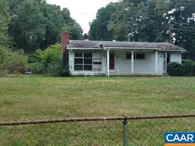 Fluvanna County Single Family Home For Sale: 120 Antioch Rd