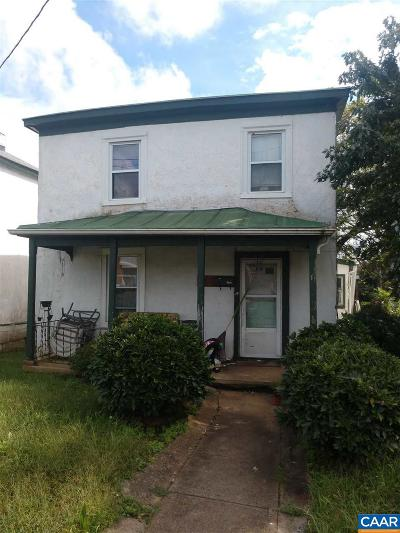 Charlottesville VA Single Family Home For Sale: $139,900