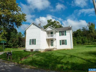 Albemarle County Single Family Home For Sale: 7595 Esmont Rd