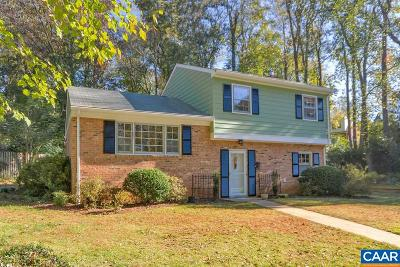 Charlottesville Single Family Home For Sale: 2735 McElroy Dr