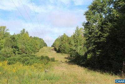 Fluvanna County Lots & Land For Sale: Venable Rd