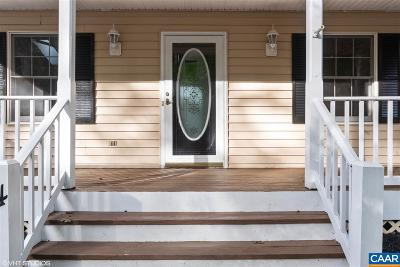Fluvanna County Single Family Home For Sale: 14 Hardwood Rd