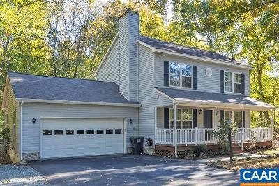 Fluvanna County Single Family Home For Sale: 5 Cliftwood Rd