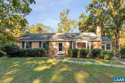 Albemarle County Single Family Home For Sale: 1527 Ballard Dr