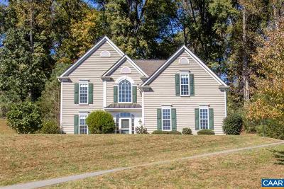 Albemarle County Single Family Home For Sale: 1348 Singleton Ln