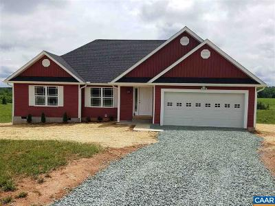Fluvanna County Single Family Home For Sale: 179 Jefferson Dr