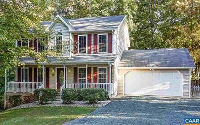 Fluvanna County Single Family Home For Sale: 723 Jefferson Dr