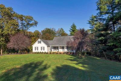 Albemarle County Single Family Home For Sale: 1900 Fray Rd