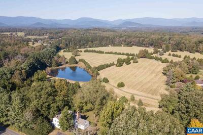 Albemarle County Single Family Home For Sale: 654 Buck Mountain Rd