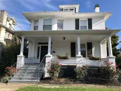 Harrisonburg Single Family Home For Sale: 86 E Grattan St