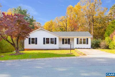Albemarle County Single Family Home For Sale: 1108 Pinehurst Ct