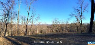 Lots & Land For Sale: 3 Blackberry Ridge Rd