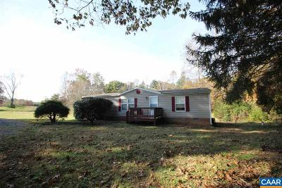 Albemarle County Single Family Home For Sale: 3975 Bungletown Rd