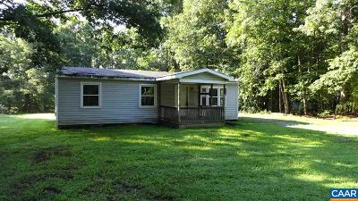 Scottsville Single Family Home For Sale: 40 Ruritan Lake Rd