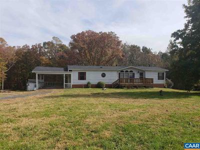Fluvanna County Single Family Home For Sale: 4091 Shores Rd