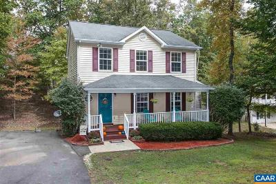Fluvanna County Single Family Home For Sale: 24 Xebec Rd