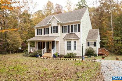 Single Family Home For Sale: 4455 Halls Rd