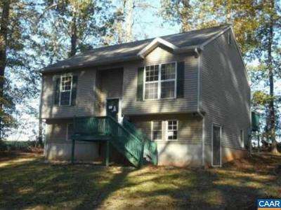 Buckingham County Single Family Home For Sale: 19591 E James Anderson Hwy