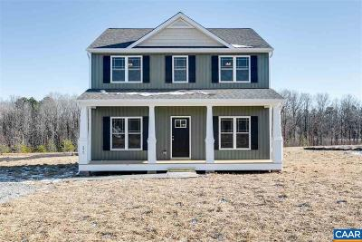 Louisa County Single Family Home For Sale: Lot 11 Hidden Farm Dr
