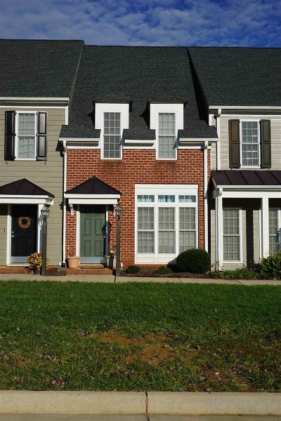 Albemarle County Townhome For Sale: 613 Mornington Ln