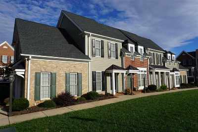 Albemarle County Townhome For Sale: 617 Mornington Ln