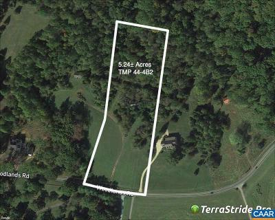 Charlottesville Lots & Land For Sale: 1008 Woodlands Rd