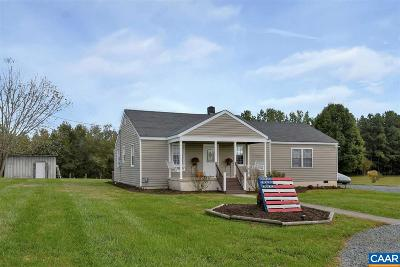 Fluvanna County Single Family Home For Sale: 3230 Kents Store Way