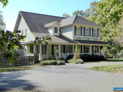 Albemarle County Single Family Home For Sale: 3591 Garth Rd