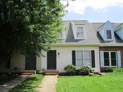 Harrisonburg Townhome For Sale: 1039 Blue Ridge Dr