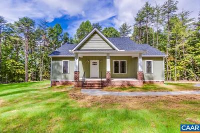 Goochland Single Family Home For Sale: 5420 Old Columbia Rd