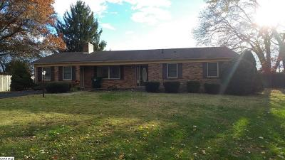 Waynesboro Single Family Home For Sale: 1320 Red Top Orchard Rd