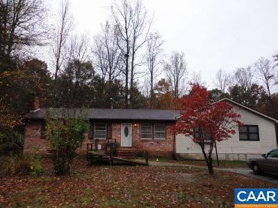 Fluvanna County Single Family Home For Sale: 99 Arkquaige Ln