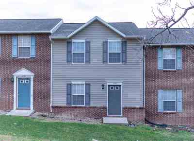 Harrisonburg Townhome For Sale: 1336 Devon Ln