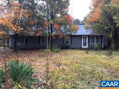 Louisa County Single Family Home For Sale: 755 Depot Rd