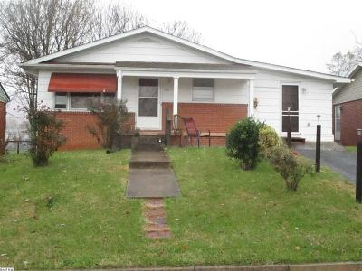 Waynesboro VA Single Family Home For Sale: $90,000