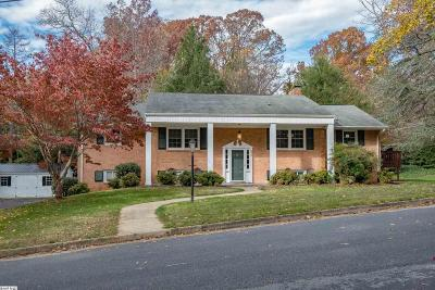 Waynesboro VA Single Family Home For Sale: $290,000