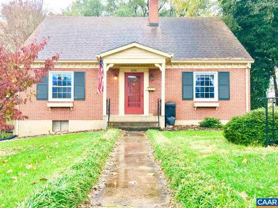 Staunton Single Family Home For Sale: 630 Parkview Ave