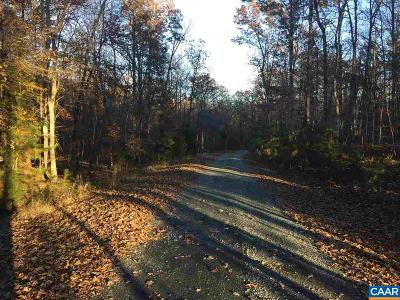 Fluvanna County Lots & Land For Sale: Thomas Jefferson Pkwy