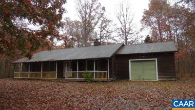 Fluvanna County Single Family Home For Sale: 24 Colonial Rd