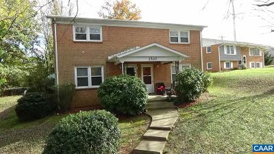 Charlottesville VA Multi Family Home For Sale: $319,900