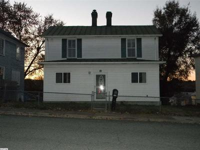 Staunton VA Single Family Home For Sale: $59,900