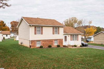 Waynesboro VA Single Family Home For Sale: $179,900